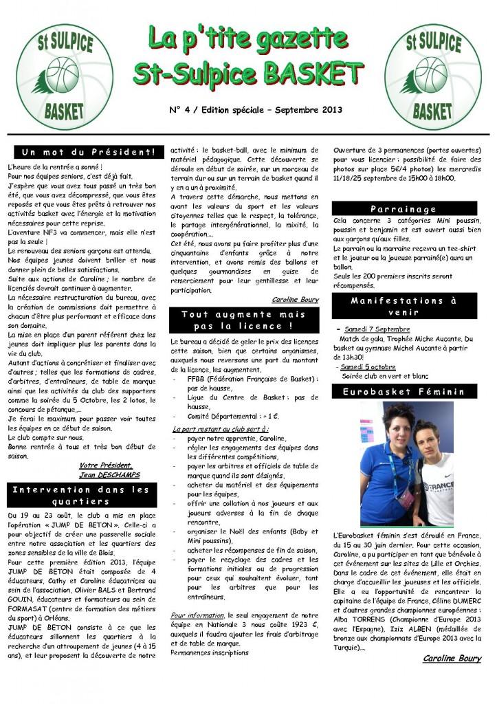 LA P'TITE GAZETTE N°4 dans LA P'TITE GAZETTE gazette-4-1-